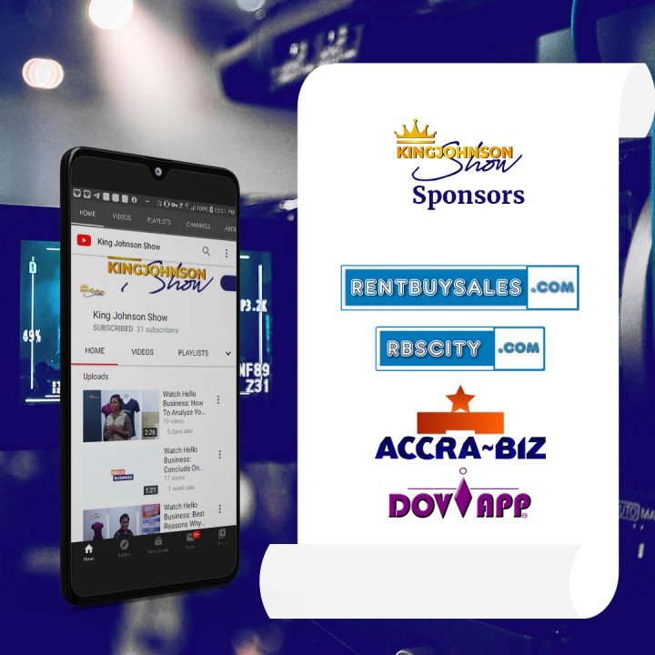 The sponsors of King Johnson Show