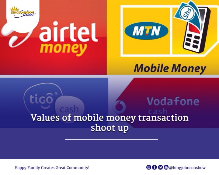 Value of mobile money transactions shoot up
