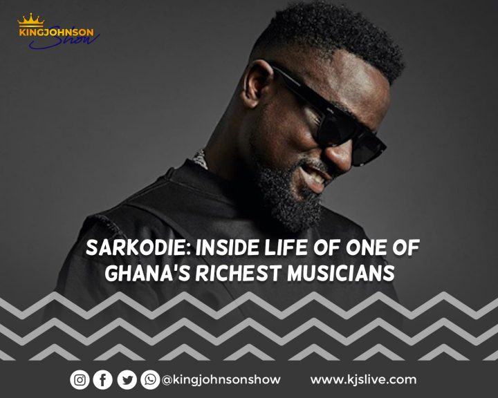 Sarkodie: Inside life of one of Ghana's richest musicians