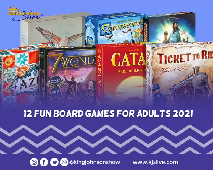 12 fun board games for adults 2021